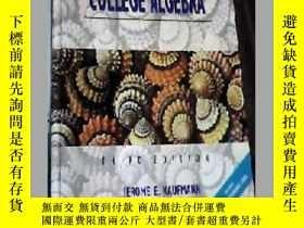 二手書博民逛書店KAUFMANN罕見COLLEGE ALGEBRA THIRD EDITION JEROME E.KAUFMANN