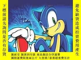二手書博民逛書店Sonic罕見The Hedgehog Coloring Book For Kids: Sonic The Hed
