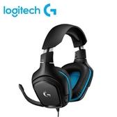 【Logitech 羅技】G431 7.1聲道電競耳機麥克風 【加碼贈不鏽鋼環保筷乙雙】