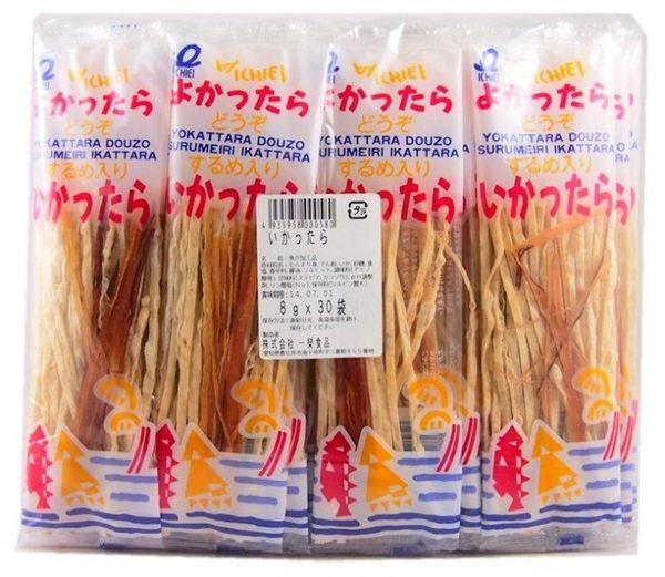 日本 一榮 鱈魚香絲 7g 魷魚和鱈魚的混合好吃又美味! 30小包/一大包【特價】★beauty pie★