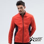PolarStar 中性 刷毛保暖外套『橘』(MIT台灣製│抗靜電│透氣│柔軟舒適│男女適穿) P18203