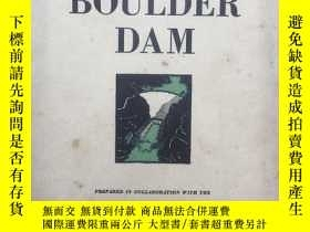 二手書博民逛書店Construction罕見of boulder dam (建造