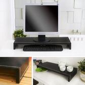 正寬65公分皮革大尺寸螢幕架(黑色)