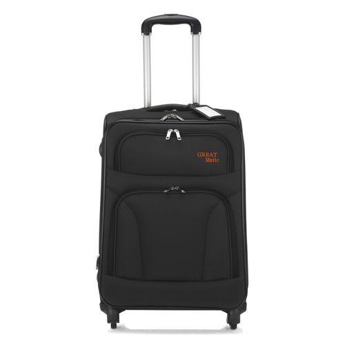 Great matic -18吋 輕量型商務旅行箱.黑色G350-18-BLK