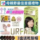 (3盒特價組) URFA優兒髮泡泡染髮劑 (5色混搭任選) 護髮染髮乳 護髮染