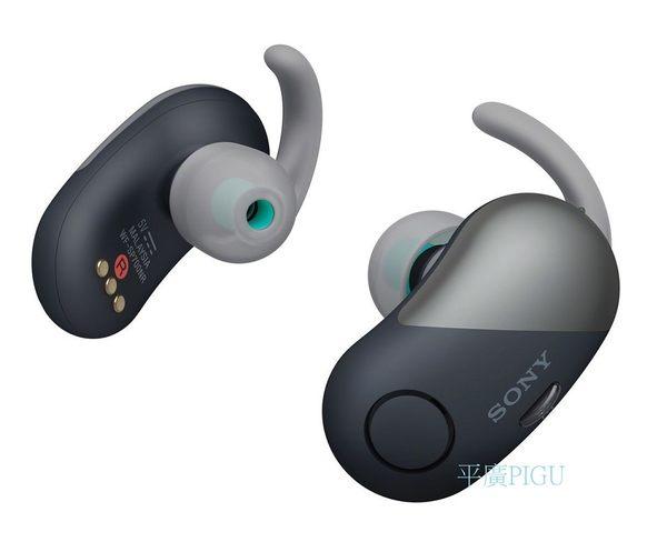 平廣 SONY WF-SP700N 黑色 藍芽耳機 降噪 送盒台灣公司貨保固1年 無線 藍牙 耳機