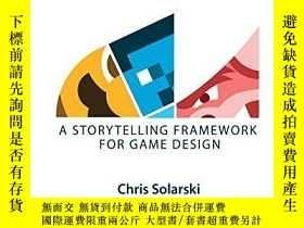 二手書博民逛書店Interactive罕見Stories And Video Game Art: A Storytelling F