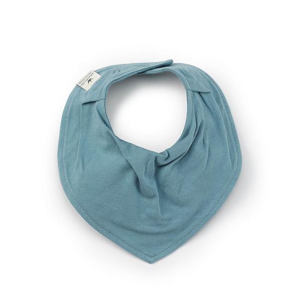 瑞典 Elodie Details 有機棉領巾型口水巾 - 小王子 Pretty Petrol