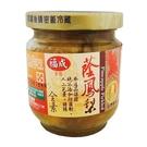 福成 蔭鳳梨 190g 玻璃罐(小) 素食可