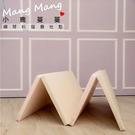 【Mang Mang】小鹿蔓蔓-兒童4cm摺疊地墊(四折200L款)-鋼琴粉[衛立兒生活館]