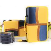 CD盒大容量滌綸布CD包音樂光碟收納包128片裝汽車碟片整理包防潮 電購3C