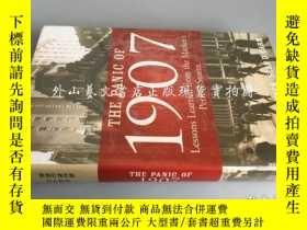 二手書博民逛書店the罕見panic of 1907:Lessons Learn