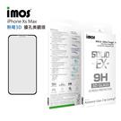 【8折特價】iMOS Apple iPhone Xs Max 熱彎3D 擴孔美觀版 玻璃螢幕保護貼