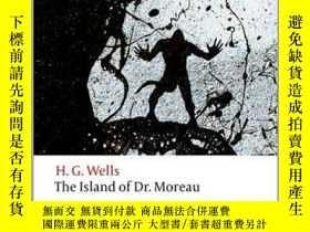 二手書博民逛書店人魔島罕見英文原版 The Island of Doctor Moreau 莫洛博士島Y335736 OUP