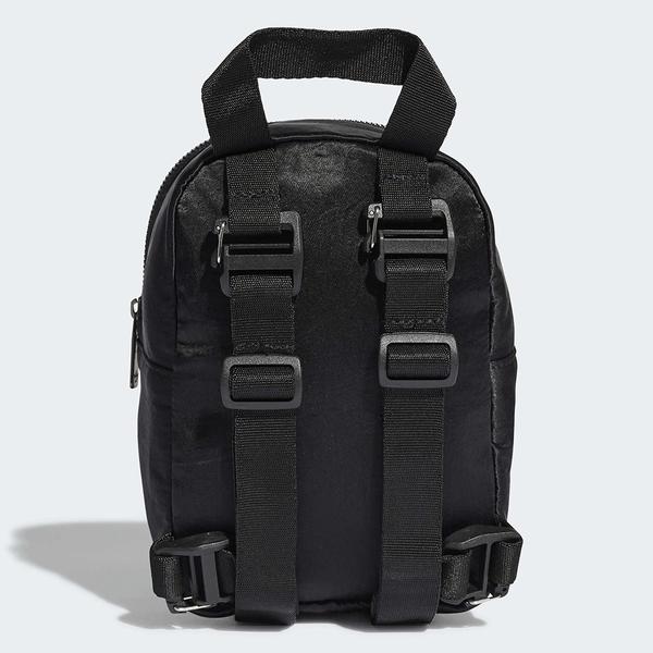 ADIDAS 後背包 MINI BACKPACK 黑 迷你 小包 亮面滑布 (布魯克林) GD1642