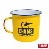 CHUMS 日本 Booby 琺瑯杯 馬克杯 S 亮黃 ( 320ml) CH621051Y001