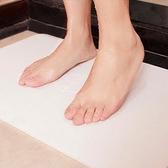 ✭慢思行✭【A044】簡約硅藻土吸水地墊 60*39 大片 厚款 腳墊 速乾 加大 吸濕 安全 抗菌 矽藻 除臭