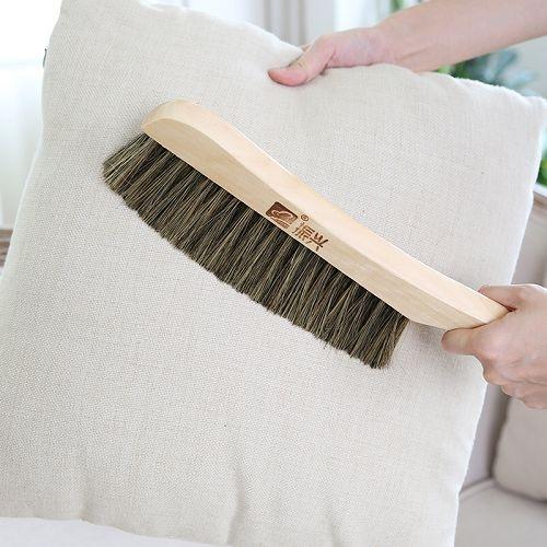 木柄長毛除塵刷 掃床除塵神器 軟毛鬃 長柄地毯刷