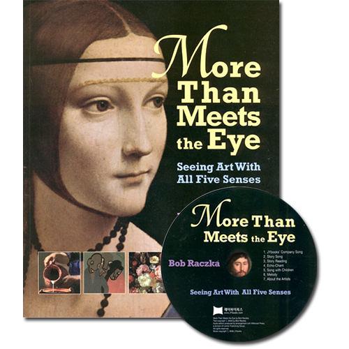 【麥克書店】MORE THAN MEETS EVE SEEING ART /英文繪本+CD 《主題:藝術欣賞》.
