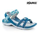 Source 女Atacama越野運動涼鞋10205208【藍灰】 / 城市綠洲(織帶、輕量、快乾、抑菌)