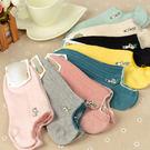 【BNC0656】日系全棉襪子-(8色)薄版襪子純棉糖果色船型襪☆貝兒