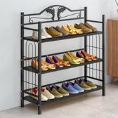 鞋架宿舍多層簡易防塵家用鞋架子經濟型組裝門口小鞋柜收納省空間