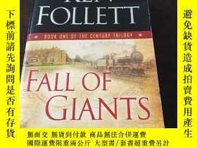 二手書博民逛書店Fall罕見of Giants (The Century Tri