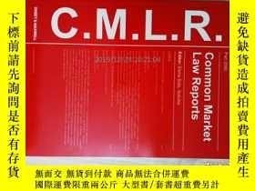 二手書博民逛書店Common罕見Market law reports (jour