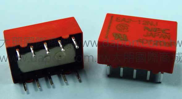 *大朋電子商城*NEC TOKIN EA2-12NJ(日本製)繼電器Relay(5入)