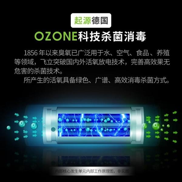 臭氧機 多功能活氧果蔬解毒機家用小型凈化器消毒機殺菌機臭氧機髮生機器 源治良品