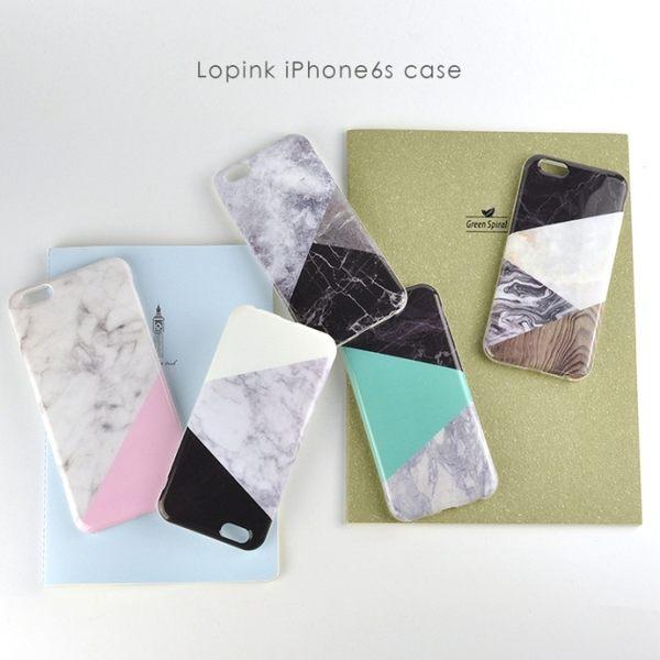 【SZ23】 iPhone7/8 手機殼 韓國拼接 大理石全包磨砂 防摔  iPhone7/8 plus 保護套