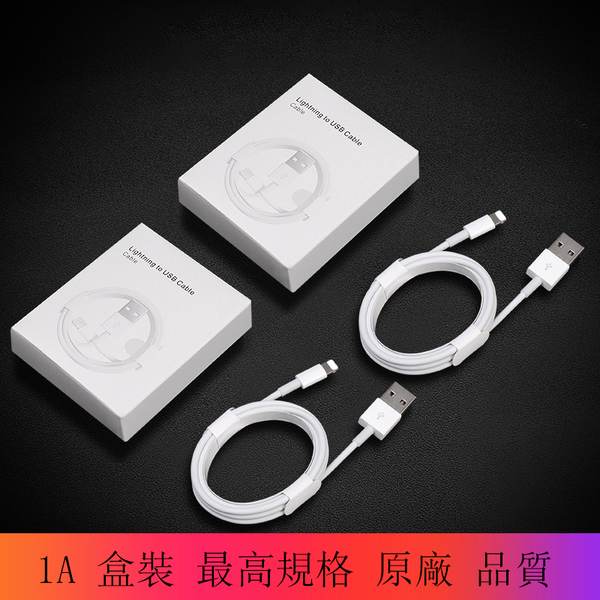 WH 兩條裝未拆封2條1米 Apple 蘋果 充電線 傳輸線 iPhone 11 X XS Max XR 8 7 6s plus iPad 100cm 數據線