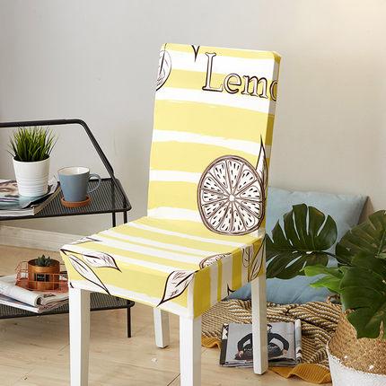 椅套 彈力連身北歐餐椅套椅墊套裝凳子套家用現代簡約通用餐桌椅子套罩【全館免運】