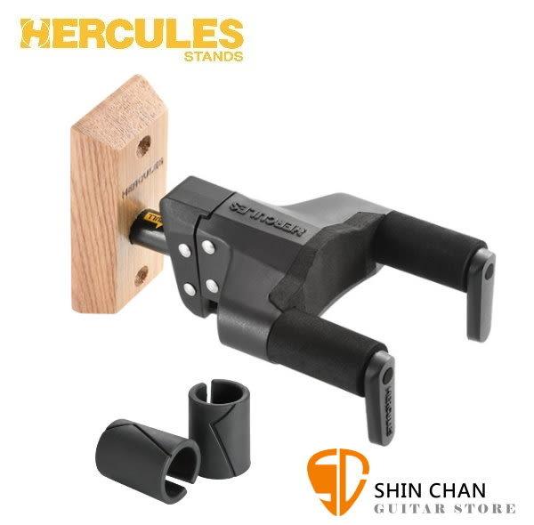 海克力斯吉他架 Hercules GSP38WB Plus 新款升級版 吉他壁掛架/附螺絲可鎖 壁掛式吉他架 木頭背板 Stand