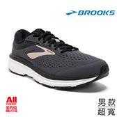 【BROOKS】慢跑鞋 男款 DYAD 10 灰金 1102864E082 全方位跑步概念館