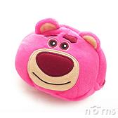 【B款熊抱哥拉鍊包】Norns  玩具總動員 迪士尼正版卡通絨毛束口袋 拍立得相機包