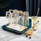 酒杯架 歐式杯架玻璃水杯掛架子置物架家用客廳瀝水架托盤創意收納倒掛架 衣櫥秘密