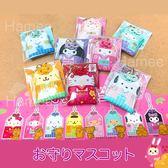 Hamee 日本正版 三麗鷗 日本和服 祈福御守 手機吊飾 kitty 布丁狗 美樂蒂 大耳狗 (任選) 306959