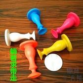 【5個裝】強磁免打孔吸墻靜音橡膠塑料門吸防撞硅膠【極簡生活】
