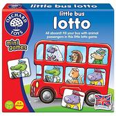【英國 Orchard Toys】OT-355 兒童桌遊-配對遊戲 車車載滿滿 Little Bus Lotto