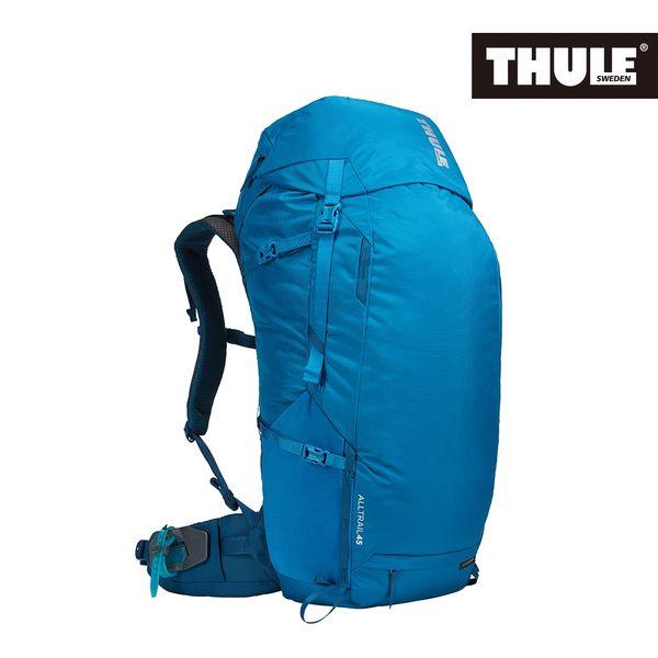 THULE-AllTrail系列45L男用登山包-藍
