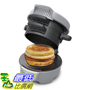 [美國直購] Hamilton Beach 25475A Breakfast Sandwich Maker DIY早餐 漢堡機 三明治機