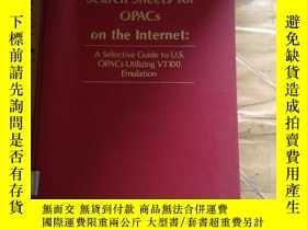 二手書博民逛書店Search罕見Sheets for Opacs on the