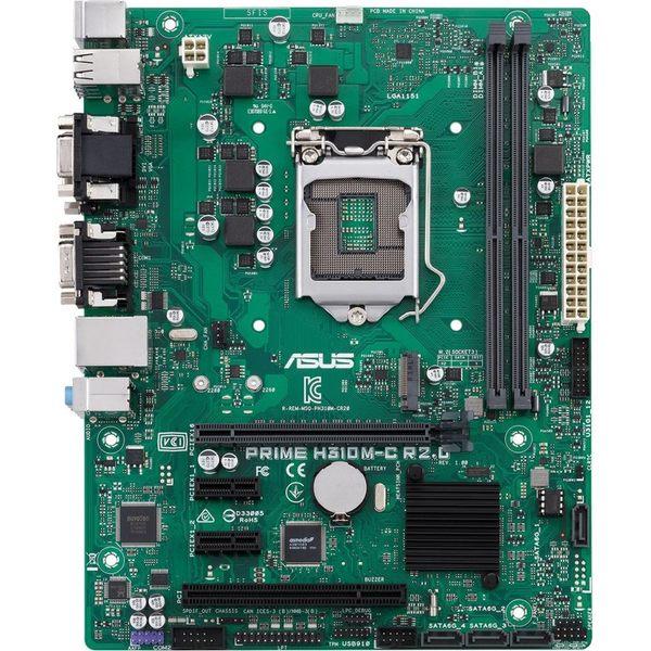 【免運費】ASUS 華碩 PRIME H310M-C R2.0/CSM 主機板 / H310晶片 / mATX / 八代處理器專用 / 內建COM埠