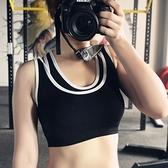 運動內衣(單件)-假兩件雙層設計女機能背心8色73et17[時尚巴黎]