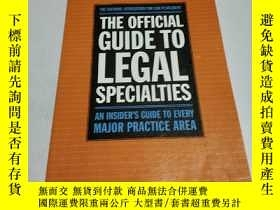 二手書博民逛書店THE罕見OFFICIAL GUIDE TO LEGAL SPE