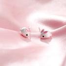 耳環 可愛 迷你 小兔 萌 小巧 甜美 耳釘 耳環 【SE835】 BOBI  3/27
