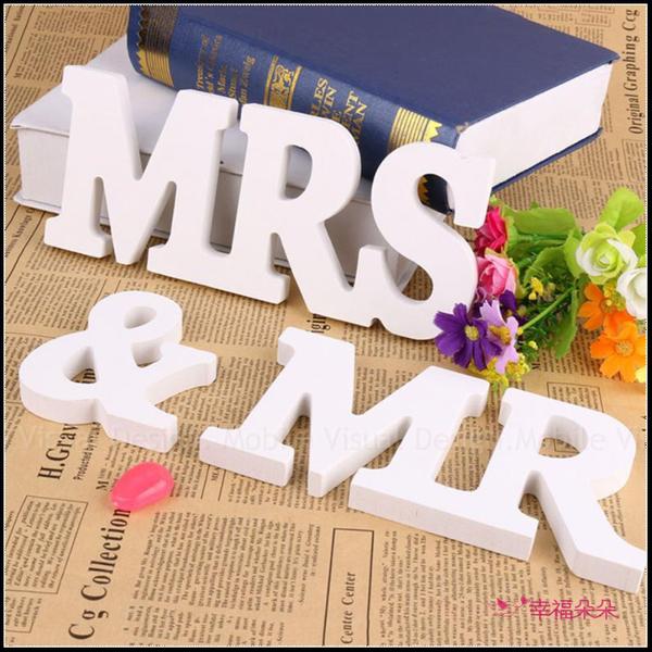 拍照道具 MR & MRS 佈置用品 木質擺飾 拍婚紗道具 婚禮佈置用品 zakka 生活空間裝飾