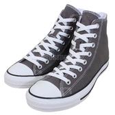 Converse 休閒鞋 Chuck Taylor All Star Hi 高筒 灰 白 基本款 帆布鞋 男鞋 女鞋 【PUMP306】 1J793C