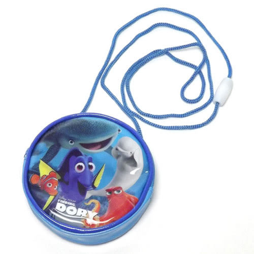 《SHO-BI》海底總動員2:多莉去哪兒 童用防水圓形零錢包附繩★funbox生活用品★_SB73940
